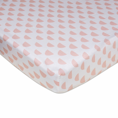 Lolli Living Fitted Sheet Pink Petals