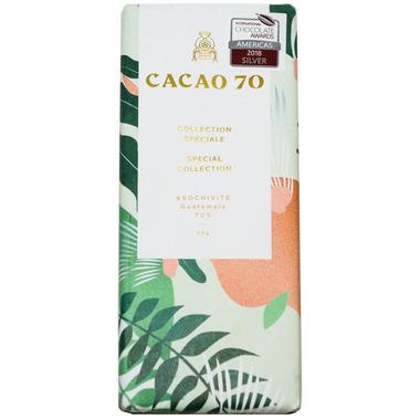 Cacao 70 Guatemala Asochivite Dark Chocolate