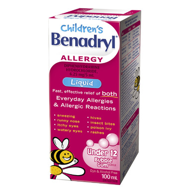 Benadryl Allergy Children\'s Liquid