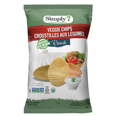 Simply 7 Organic Veggie Chips Ranch
