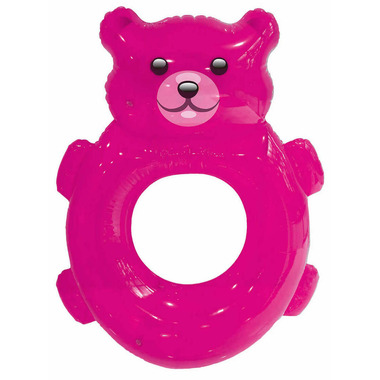 Incredible Novelties Candy Bear Pool Float Pink