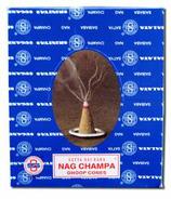Sai Baba Champa Incense Cones & Burner