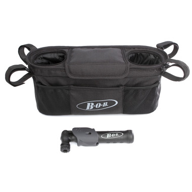 BOB Handlebar Console with Tire Pump