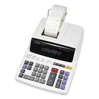 Sharp 12 Digit 2 Colour Printing Desktop Calculator