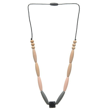 Chewbeads Bedford Teething Necklace Blush