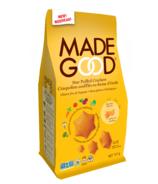 MadeGood Star Puffed Crackers Cheddar