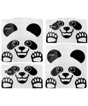 Russbe Reusable Snack and Sandwich Bags Panda