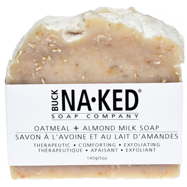 Buck Naked Soap Company Oatmeal & Almond Milk Soap