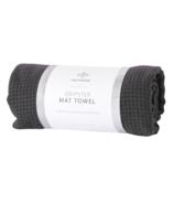 Halfmoon Gripster Mat Towel Charcoal