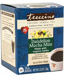 Teeccino Dandelion Mocha Mint Roasted Herbal Tea
