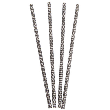 Aardvark Biodegradable Paper Straws Elegant Black