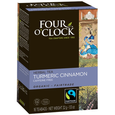 Four O\'Clock Turmeric Cinnamon Tea