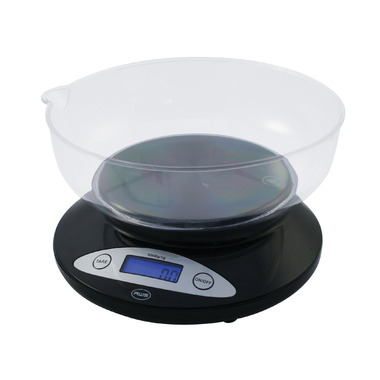 American Weigh Scales AMW-5K Bowl Kitchen Bowl Scale Black