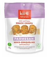 Kii Naturals Parmesan Artisan Snack Crisps