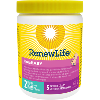 Renew Life FloraBABY 2 Billion Active Cultures