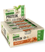 IronVegan Sprouted Protein Bars Salted Caramel