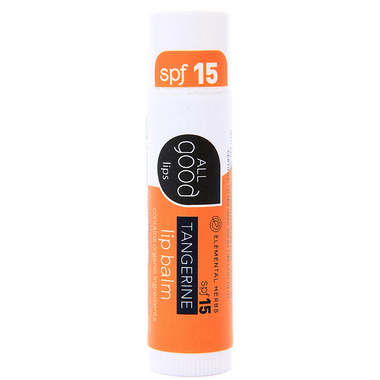 All Good Tangerine Lip Balm SPF15