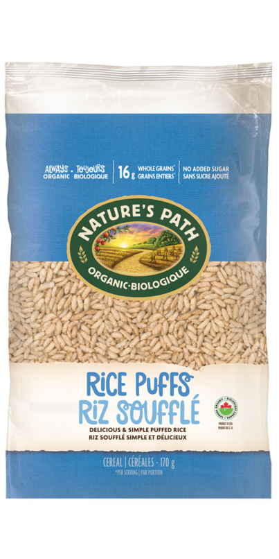 Buy Nature S Path Organic Rice Puffs Cereal At Well Ca