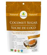 Sucre brun foncé de noix de coco Ecoideas