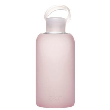 bkr Bubble Glass Bottle Sheer Light Pink