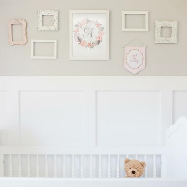 Lulujo Baby Wall Hanger Isn\'t She Lovely