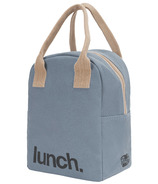 Fluf Zippered Lunch Blue Lunch
