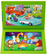 Stephen Joseph 2-Sided Magnetic Puzzle Zoo