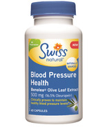Swiss Natural Blood Pressure Health with Benolea Olive Leaf Extract