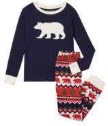 Ensemble pyjama pour enfants Hatley Fair Isle Bear Applique