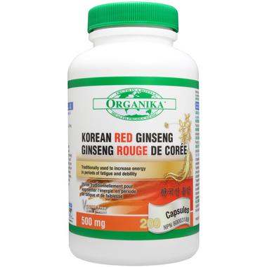 Organika Korean Red Ginseng