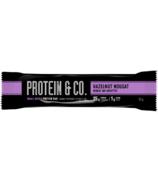 NutraPhase Protein & Co. Hazelnut Nougat Protein Bar