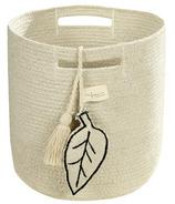 Lorena Canals Basket Leaf Natural
