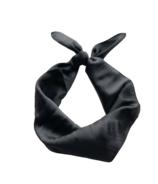 Mini Bretzel Hair Ribbon Black