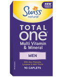Swiss Natural Total One Multi Vitamin & Mineral Men