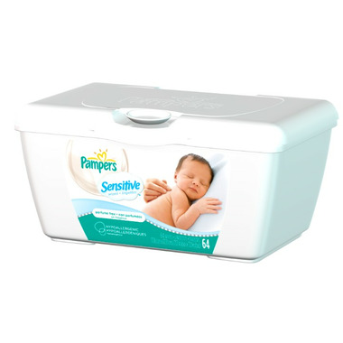 Pampers Sensitive Wipes Tub