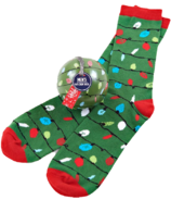 Little Blue House Men's Socks in Ornament Northern Lights