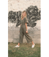 Greige The Chaunti Coverall Olive