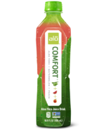Alo Comfort Aloe Vera Juice + Watermelon + Peach Drink