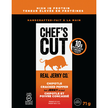 Chef\'s Cut Beef Jerky Chipotle Cracked Pepper
