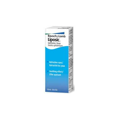 Bausch & Lomb Liposic Opthalmic Eye Drops