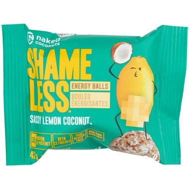 Naked Coconuts Shameless Energy Balls Sassy Lemon Coconut