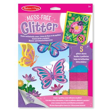 Melissa & Doug Mess-Free Glitter Flower & Butterfly Scenes