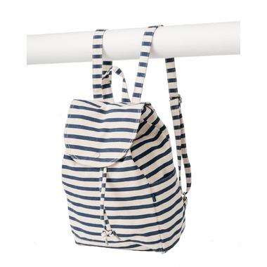 Baggu Drawstring Backpack Sailor Stripe