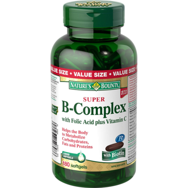 Nature\'s Bounty Super B-Complex with Folic Acid & Vitamin C