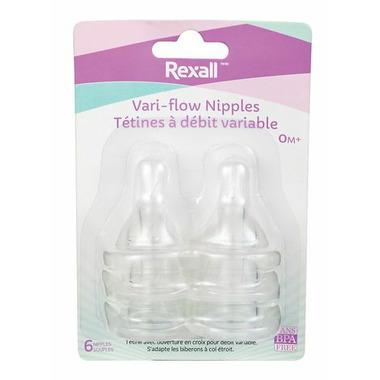 Rexall Vari-Flow Nipples