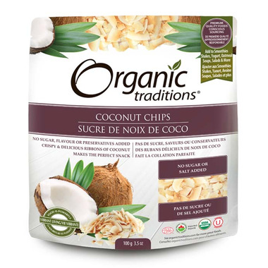 Organic Traditions Coconut Chips