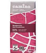 Camino Raspberries Dark Chocolate Bar