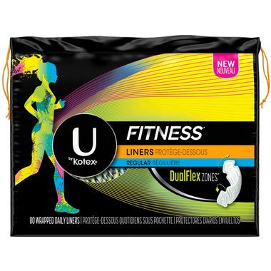 U by Kotex Fitness Liners Regular
