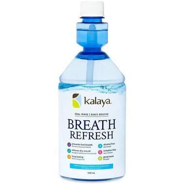 Kalaya Naturals Breath Refresh Oral Rinse