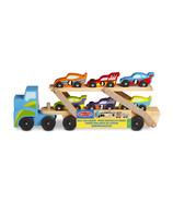 Melissa & Doug Jumbo Race-Car Carrier
